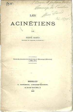 Les Acinetiens: Sand, Rene