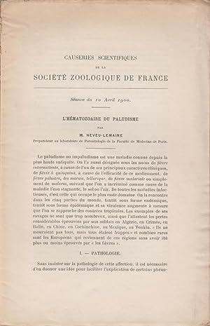 L'Hematozoaire du Paludisme: Neveu-Lemaire, M.