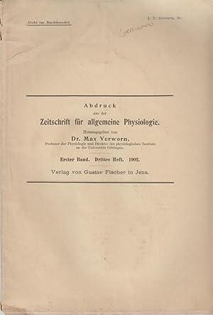 Die Abhangigkeit der Grosse der Zelle von der Menge ihrer Kernmasse: Gerassimow, J.J.