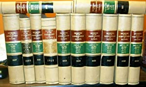 Decisions of the Commissioner of Patents and of United States Courts in Patent Cases 12 volumes: ...