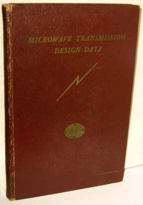 Microwave Transmission Design Data: Moreno, T. (Introduction)