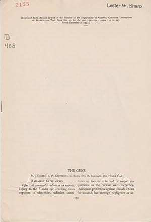 The Gene: Demerec, M.; Kaufmann,