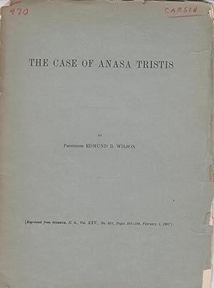 The Case of Anasa Tristis: Wilson, Edmund B.