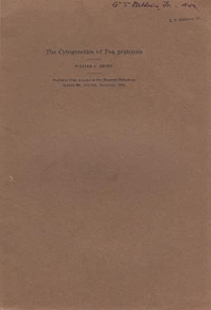 The Cytogenetics of Poa pratensis: Brown, William L.