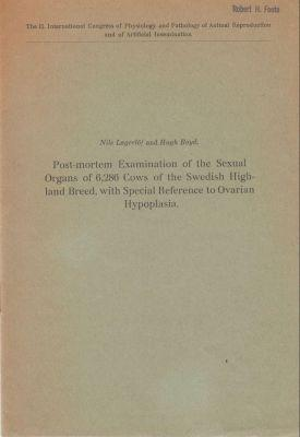 Post-Mortem Examination of the Sexual Organs of 6,286 Cows of the Swedish Highland Breed, with ...