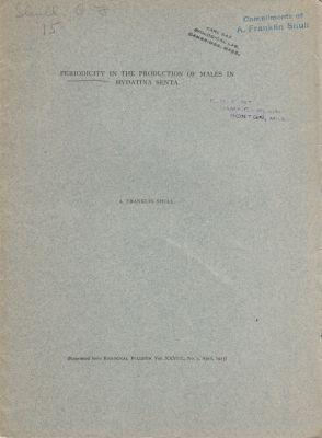 Periodicity in the Production of Males in Hydatina Senta: Shull, A. Franklin
