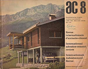 AC 8 Internationale Asbestzement-Revue Oktober 1957: Girsberger, H.