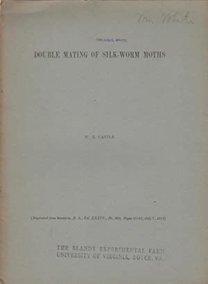 Double Mating of Silk-Worm Moths: Castle, W.E.