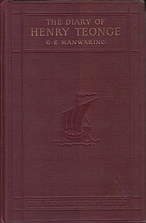 The Diary of Henry Teonge: Manwaring, G.E.