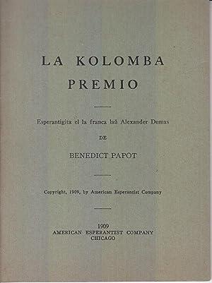 La Kolomba Premio: Papot, Benedict