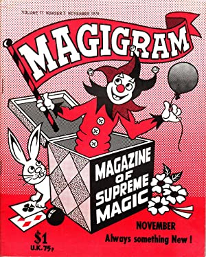 Magigram: Magazine of Supreme Magic - 8 Issues: de Courcy, Ken, editor