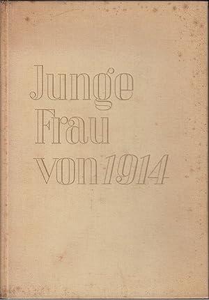 Junge Frau von 1914: Zweig, Arnold