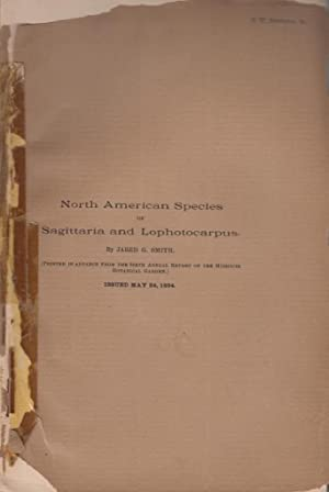 North American Species or Sagittaria and Lophotocarpus: Smith, Jared G.