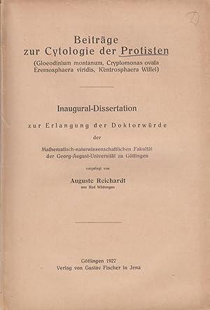 Beitrage zur Cytologie der Protisten: Reichardt, Auguste