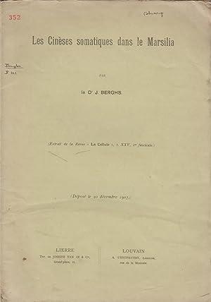 Les Cineses Somatiques dans le Marsilia: Berghs, J.