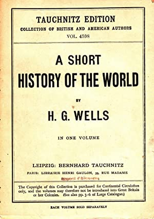 A Short History of the World: Collection: Wells, H.G.