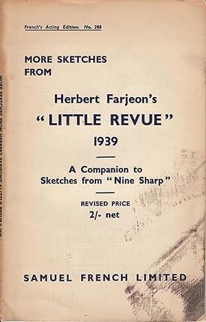 """More Sketches from Herbert Farjeon's """"Little Revue"""" 1939: Farjeon, Herbert"""