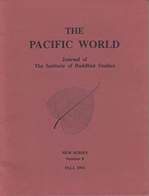 The Pacific World: Journal of the Institute: World, The Pacific;