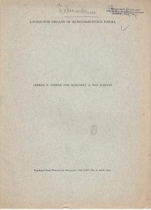 Locomotor Organs of Echinarachnius Parma: Parker, George H.; Van Alstyne, Margaret A.