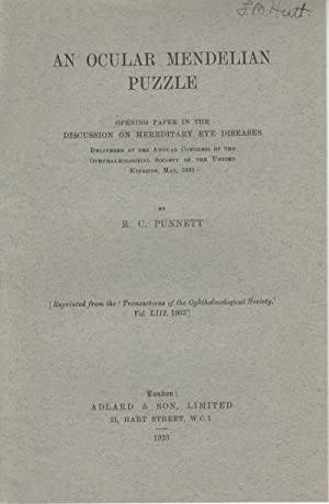 An Ocular Mendelian Puzzle: Punnett, R.C.
