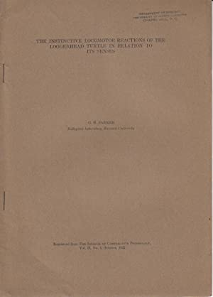 The Instinctive Locomotor Reactions of the Loggerhead Turtle in Relation to Its Senses: Parker, G.H...
