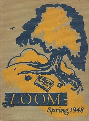 Loom Spring 1948: School, Straubenmuller Textile High
