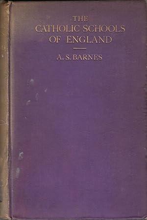 The Catholic Schools of England: Barnes, Arthur Stapylton