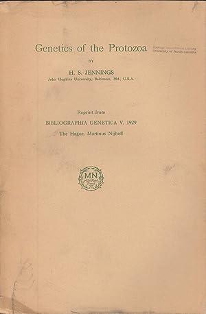 Genetics of the Protozoa: Jennings, H.S.