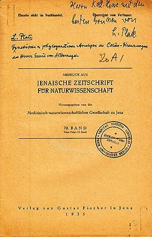 Genetische und phylogenetische Analyse der Colias-Kreuzungen des Herrn Emil von Silbernagel: ...
