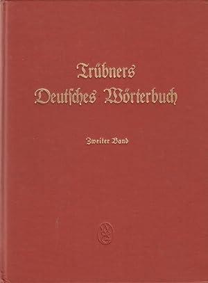Trubners Deutsches Worterbuch Band 2, 3, 5, and 7: Gotze, Alfred