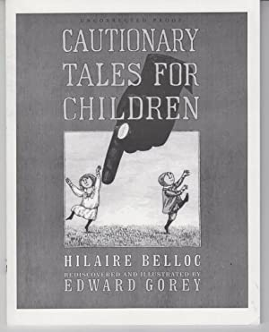 Cautionary Tales for Children: Belloc, Hilaire illustrated