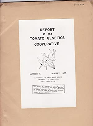 Report of the Tomato Genetics Cooperative