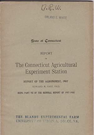 Report of the Agronomist