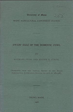 Dwarf Eggs of the Domestic Fowl