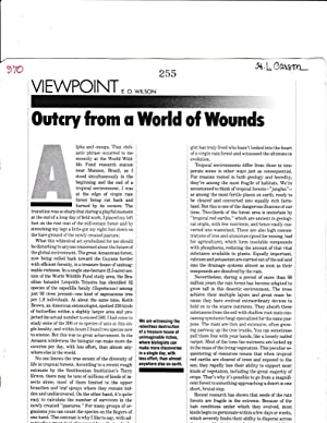 Outcry from a Wold of Wounds