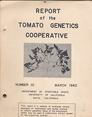 Report of the Tomato Genetics Cooperative by Stinson