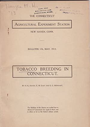Tobacco Breeding in Connecticut by H. K. Hayes, E. M. East, and E. G. Beinhart