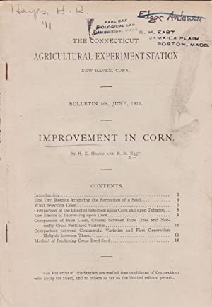Improvement in Corn by H. K. Hayes and E. M. East