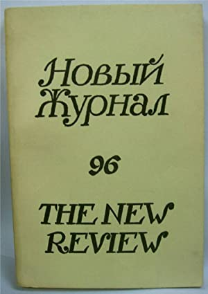 Novyi Zhurnal The New Review 96 A Russian Quarterly IN RUSSIAN