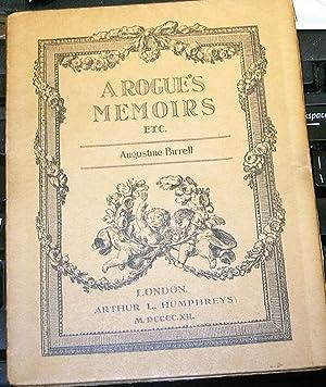 A Rogue's Memoirs: Burrell, Augustine