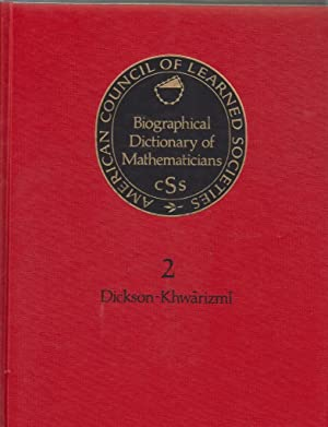 Biological Dict Mathematicians (Biographical Dictionary of Mathematicians): Coun, Amer
