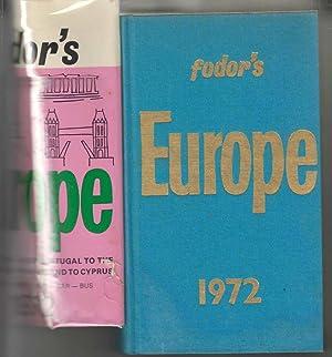 Fodor's Europe 1972: Fodor, Eugene (ed)