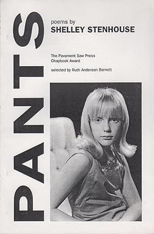 Pants (Chapbook Award Series): Stenhouse, Shelley; Baratier,