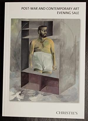 Post-War Contemporary Art Evening Sale Wednesday 12: Christie's