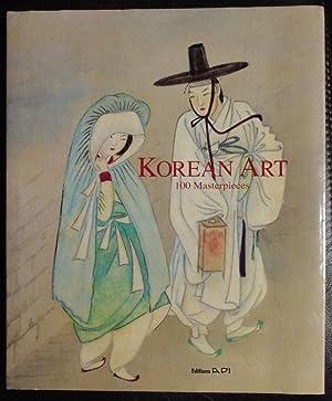 Korean art: 100 masterpieces: DaiWonLee