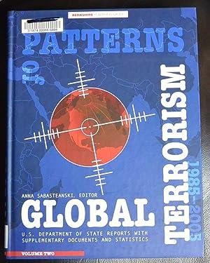 Patterns of Global Terrorism 1985-2005: U. S.: Anna Sabasteanski; Anna