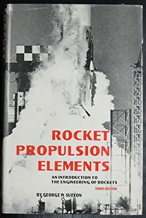 Rocket Propulsion Elements Used Abebooks