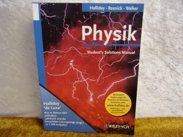 Resnick Halliday Walker Solutions 5th Edition Halliday