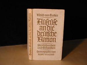 Aufrufe an die Deutsche Nation - Sendbriefe: Ulrich von Hutten