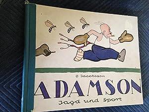 Adamson, Jagd Und Sport, mit Einer Selbstbiographie: Jacobsson, O.